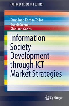 Cover of the book Information Society Development through ICT Market Strategies