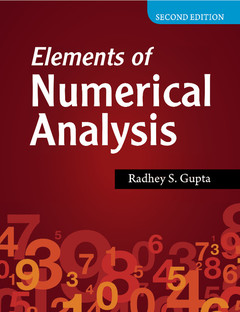 Couverture de l'ouvrage Elements of Numerical Analysis