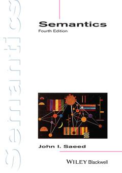 Cover of the book Semantics