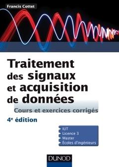 Couverture de l'ouvrage Traitement des signaux et acquisition de données