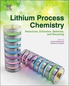 Couverture de l'ouvrage Lithium Process Chemistry