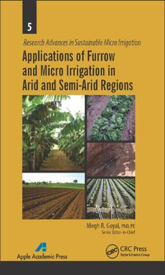 Couverture de l'ouvrage Applications of Furrow and Micro Irrigation in Arid and Semi-Arid Regions
