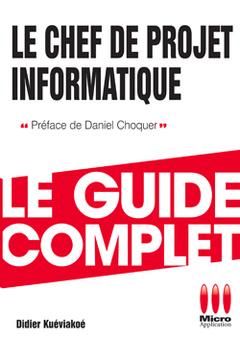 Couverture de l'ouvrage Chef de projet informatique
