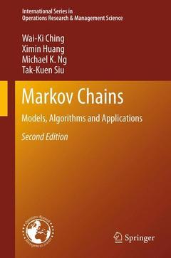 Couverture de l'ouvrage Markov Chains