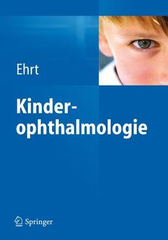 Cover of the book Kinderophthalmologie