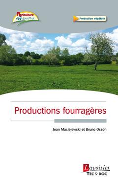Couverture de l'ouvrage Productions fourragères