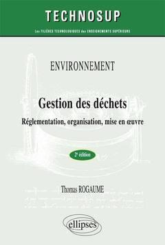 Couverture de l'ouvrage Environnement