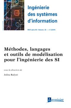 Couverture de l'ouvrage Ingénierie des systèmes d'information RSTI série ISI Volume 20 N° 2/Mars-Avril 2015