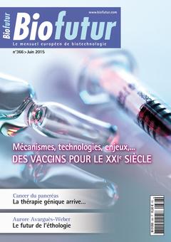 Couverture de l'ouvrage Biofutur N° 366 (Juin 2015)