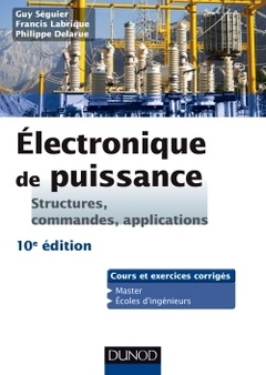 Couverture de l'ouvrage Électronique de puissance (10° éd.)