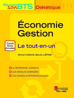 Couverture de l'ouvrage Économie Gestion - Le tout-en-un