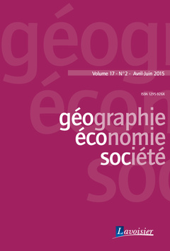 Couverture de l'ouvrage Géographie, économie, société