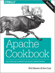Cover of the book Apache Cookbook