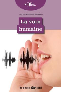 Couverture de l'ouvrage La voix humaine