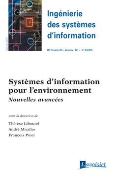 Couverture de l'ouvrage Ingénierie des systèmes d'information RSTI série ISI Volume 20 N° 3/Mai-Juin 2015