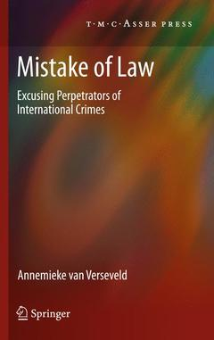 Cover of the book Mistake of Law