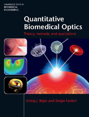 Cover of the book Quantitative Biomedical Optics