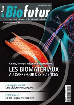 Couverture de l'ouvrage Biofutur N° 368 (Septembre 2015)