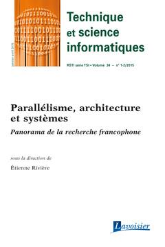 Couverture de l'ouvrage Technique et science informatiques RSTI série TSI Volume 34 N° 1-2/Janvier-Avril 2015