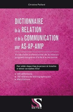 Couverture de l'ouvrage Dictionnaire de la relation et de la communication pour AS-AP-AMP