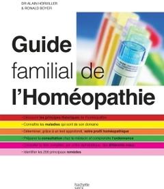 Couverture de l'ouvrage Guide familial de l'homéopathie