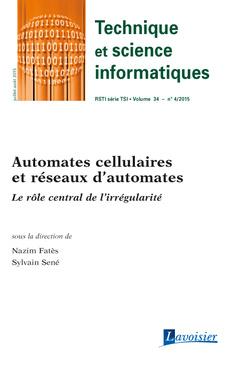 Couverture de l'ouvrage Technique et science informatiques RSTI série TSI Volume 34 N° 4/Juillet-Août 2015