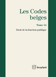 Couverture de l'ouvrage Les Codes belges (3e Éd.)