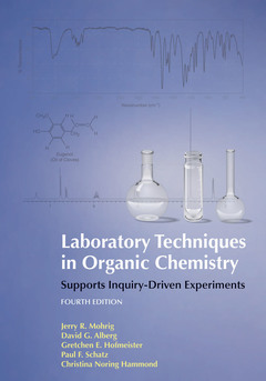 Cover of the book Laboratory Techniques in Organic Chemistry (4th Edition)