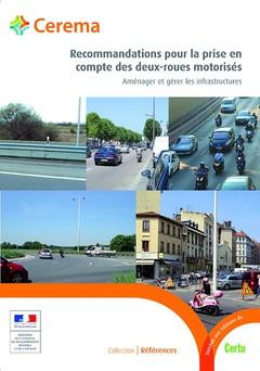 Couverture de l'ouvrage Recommandations pour la prise en compte des deux-roues motorisés
