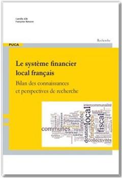 Couverture de l'ouvrage Le système financier local français