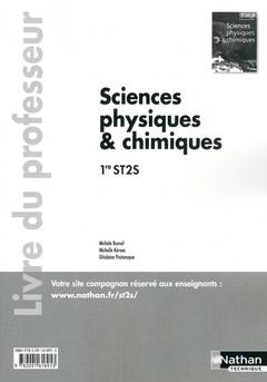 Couverture de l'ouvrage Sc phys/chimiques 1e st2s