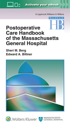 Cover of the book Massachusetts General Hospital Postoperative Care Handbook