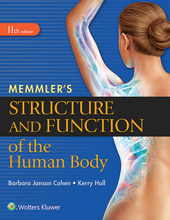 Couverture de l'ouvrage Memmler's Structure and Function of the Human Body, HC
