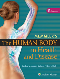 Couverture de l'ouvrage Memmler's The Human Body in Health and Disease - HC