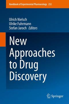 Couverture de l'ouvrage New Approaches to Drug Discovery