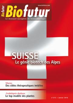 Couverture de l'ouvrage Biofutur N° 372 (Janvier 2016)