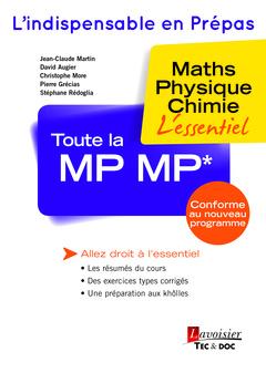 Couverture de l'ouvrage Toute la MP MP*