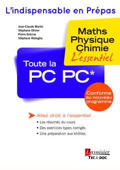 Couverture de l'ouvrage Toute la PC PC*