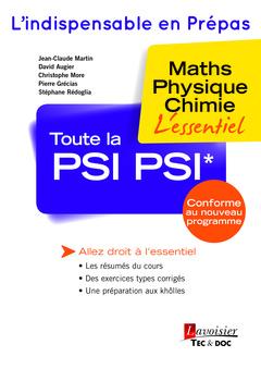 Couverture de l'ouvrage Toute la PSI PSI*
