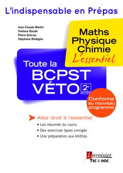 Couverture de l'ouvrage Toute la BCPST-VÉTO 2e année