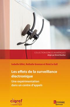 Couverture de l'ouvrage Les effets de la surveillance électronique