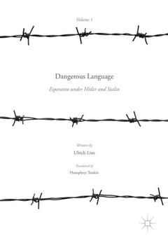 Cover of the book Dangerous Language — Esperanto under Hitler and Stalin