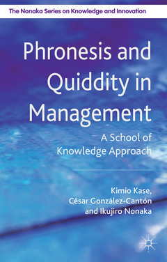 Couverture de l'ouvrage Phronesis and Quiddity in Management