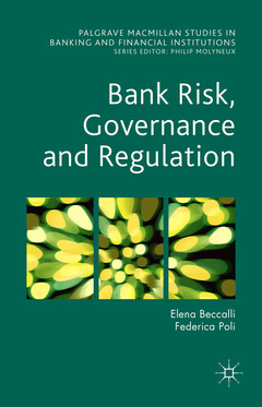Cover of the book Bank Risk, Governance and Regulation