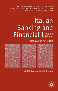 Cover of the book Italian Banking and Financial Law