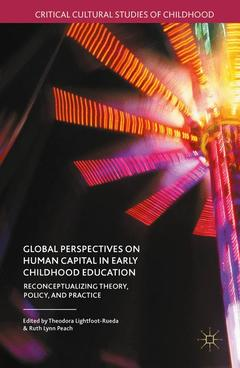 Couverture de l'ouvrage Global Perspectives on Human Capital in Early Childhood Education