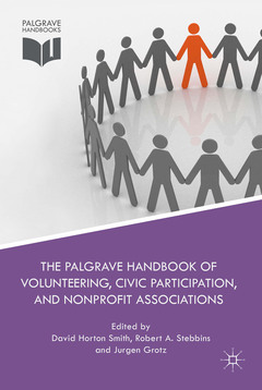 Cover of the book The Palgrave Handbook of Volunteering, Civic Participation, and Nonprofit Associations