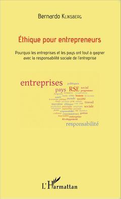 Couverture de l'ouvrage Ethique pour entrepreneurs