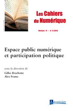 Couverture de l'ouvrage Les Cahiers du Numérique Volume 11 N° 4/Octobre-Décembre 2015
