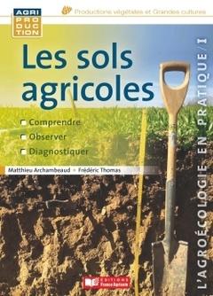 Couverture de l'ouvrage Les sols agricoles